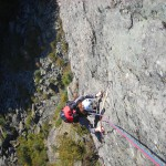 Cresta delle Torri sulla via Tube di Fallopio