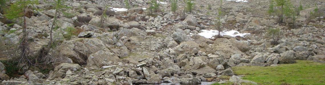 Miniere di Radis - profilo