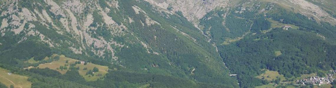 Monte Civrari - profilo