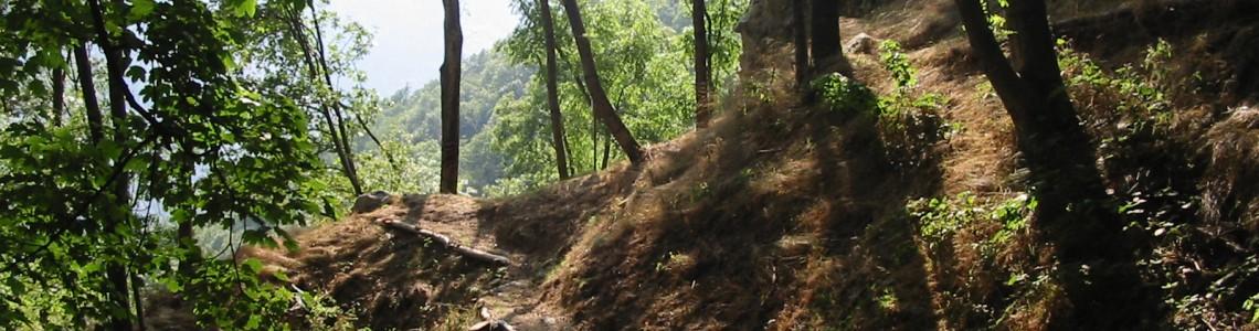 Sentiero Castei D'le Rive - profilo