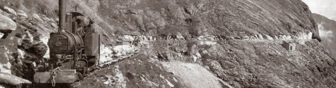 Sentiero Decauville - profilo