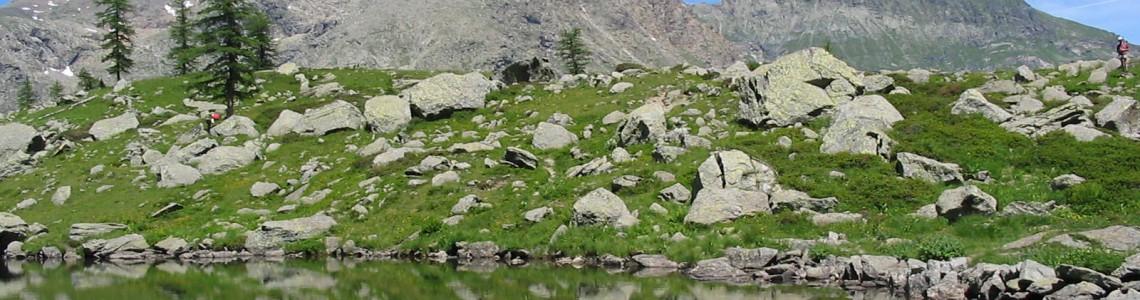 Lago Afframont - profilo
