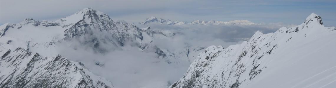 Scialpinismo Canale d'Arnas - profilo