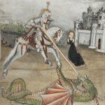 San Giorgio trafigge il drago