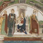 Vergine in trono tra i Santi